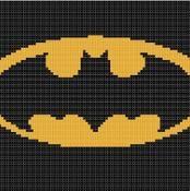 Batman Cross Stitch Pattern - via @Craftsy