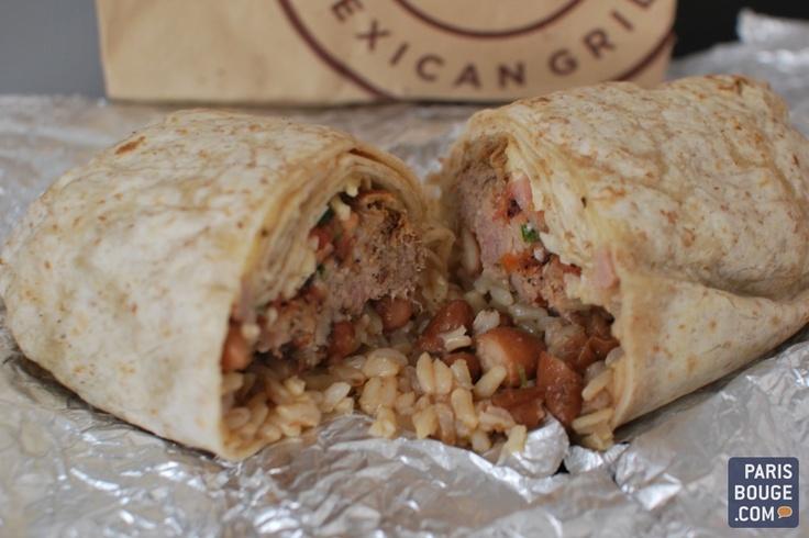 Chipotle, enfin le vrai fast-food à la Mexicaine à Paris 20 bd Montmartre 75009 Paris