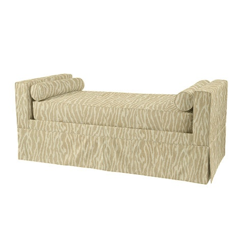 New canaan daybed backless sofa chaise lounge chaise for Backless chaise