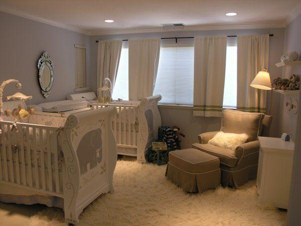 Mais de 20 inspirações de quartos para bebês gêmeos! - Just Real Moms - Blog para Mães