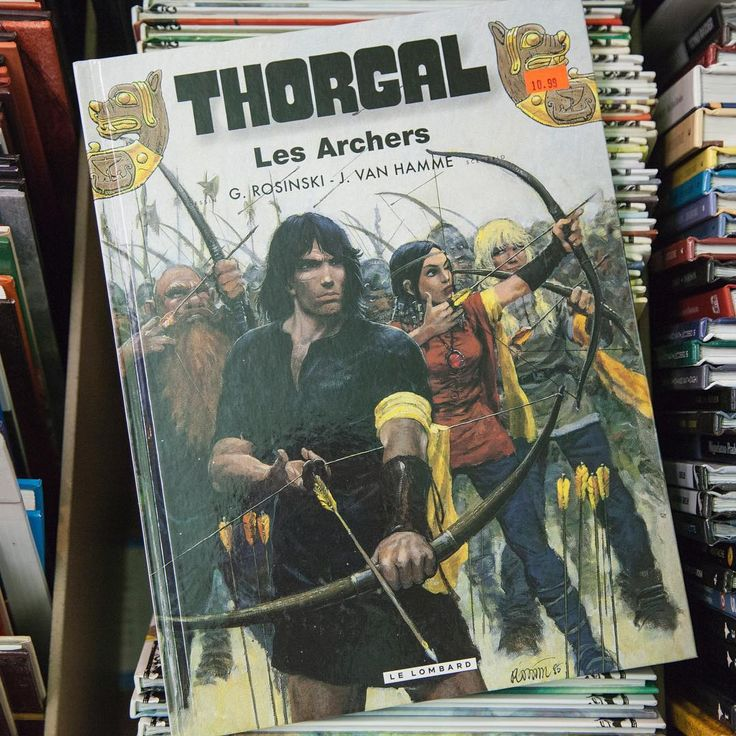 #Thorgal #LesArchers #LibrairieVolume #BD #Livres #Librairie #Montreal #MtL #Books #Bookstore #Bookstagram #MTLmoments #ruestecatherine #bookshelf #bookworm #bookclub #booklover