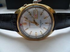 Seiko Bellmatic 'Cricket' Alarm Gents Gold-Plated Day/Date Automatic C.1973