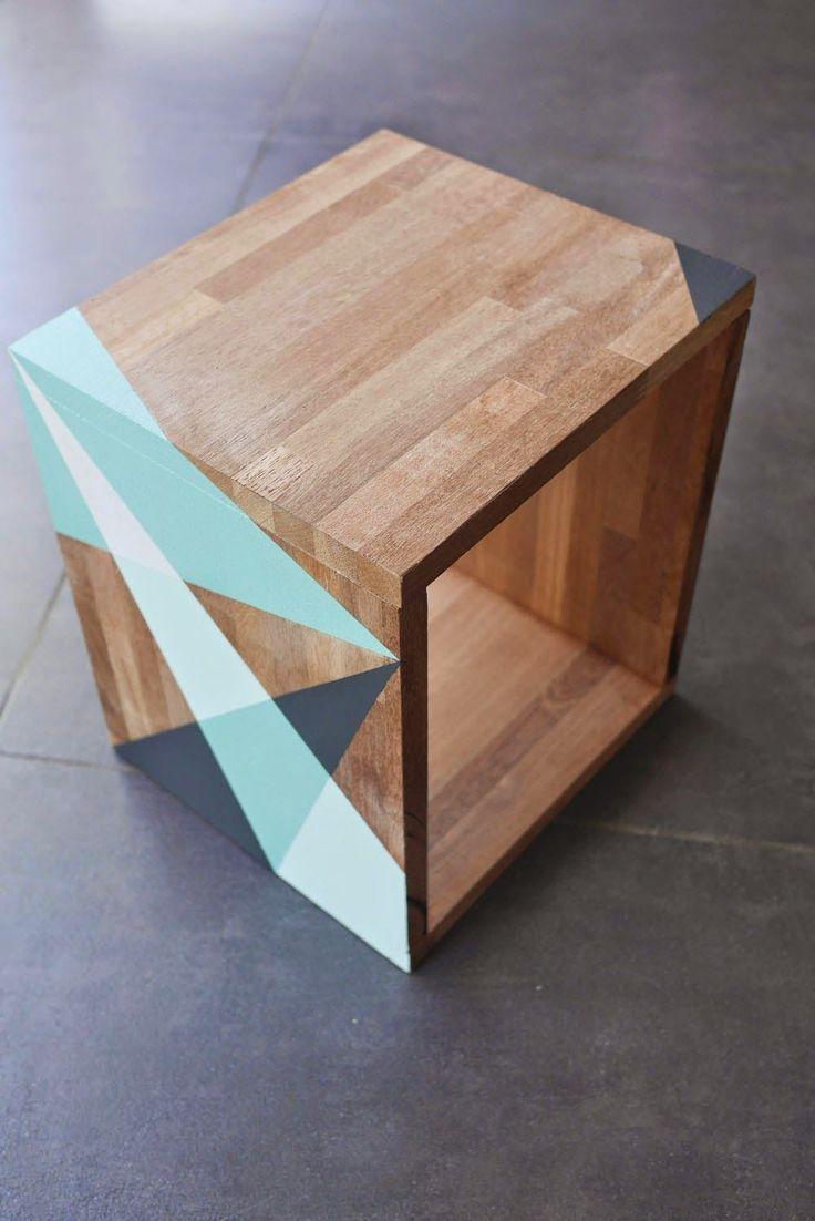 Les 25 meilleures id es de la cat gorie table d appoint - Fabriquer une table d appoint ...