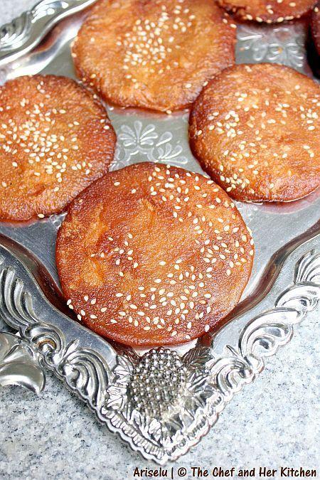 Ariselu | Adhirasam | Kajjaya | Athirasa Recipe - Diwali Sweets Recipes 2012