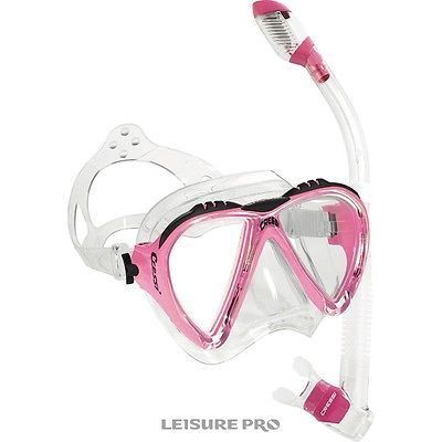 Snorkels and Sets 71162: Cressi Lince Mask With Dry Snorkel Set, -> BUY IT NOW ONLY: $59.95 on eBay!