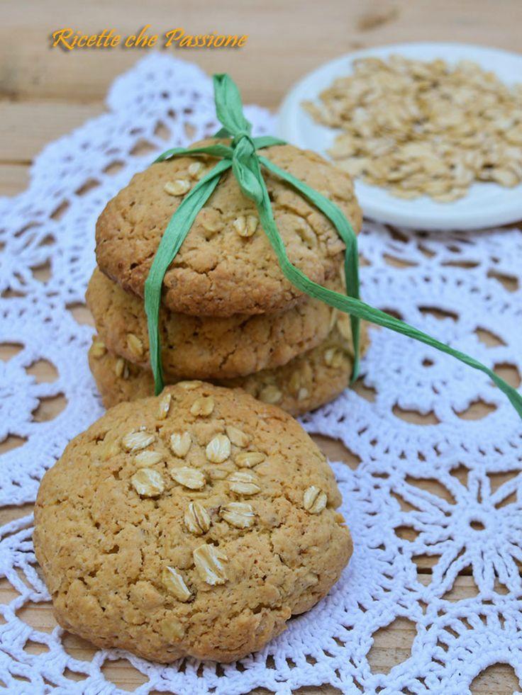 Biscotti ai fiocchi d'avena fatti in casa