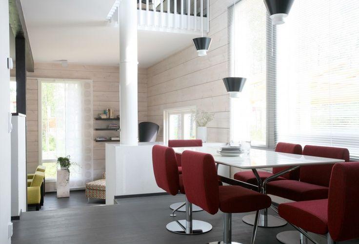 Honka Blockhaus Modell Rock Esszimmer