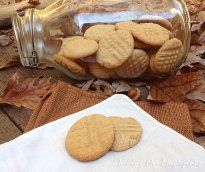 Peanut Butter Cookies from Saveur Magazine, October 2012 -