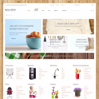 Shopify Template for Home Decor