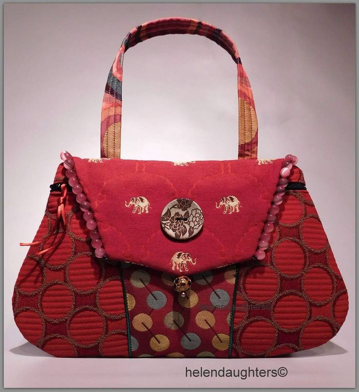 #3 - Make a Handbag A Day Challenge.  I made this piece to honor the 145 years of Ringling Circus.  The Ringling Circus started in Baraboo, WI.  We have the Ringling Museum three block from our studio.  The Museum is really worth visiting during the summer months!! We have many Ringling places here, The Ringling Theater, Ringling Blvd, Two Ringling Bed and Breakfasts, A Big Big Top Parade in the Summer. At one time we even hosted Clown Camp.  So, when we heard yesterday the Circus was…