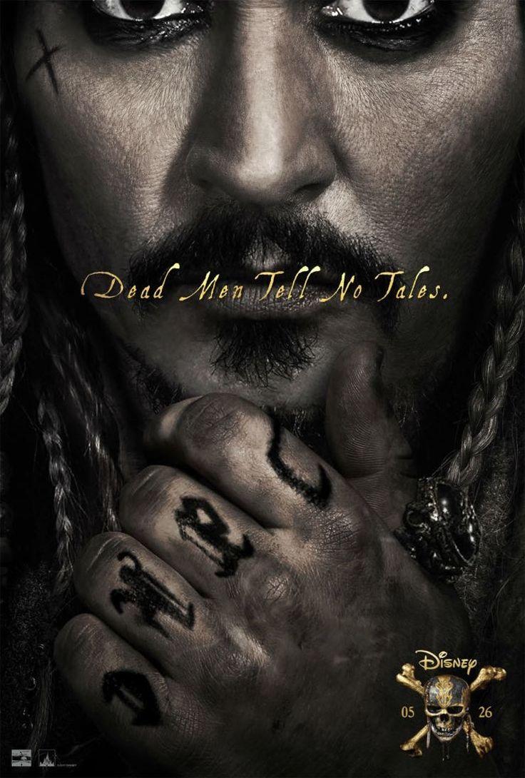 ついにジャックのご尊顔が! 映画『パイレーツ・オブ・カリビアン/最後の海賊』の新映像が公開 2