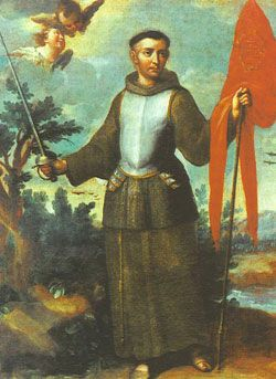 St. John of Capistrano, Roman Catholic Priest and Martyr. In 1456 at age 70 he led a crusade against the invading Ottoman Empire at the siege of Belgrade with the Hungarian military commander John Hunyadi. St. John, at the age of seventy, was commissioned by Pope Callistus III to preach and lead a crusade against the invading Turks. Marching at the head of seventy thousand Christians, he gained victory in the great battle of Belgrade against the Turks in 1456.