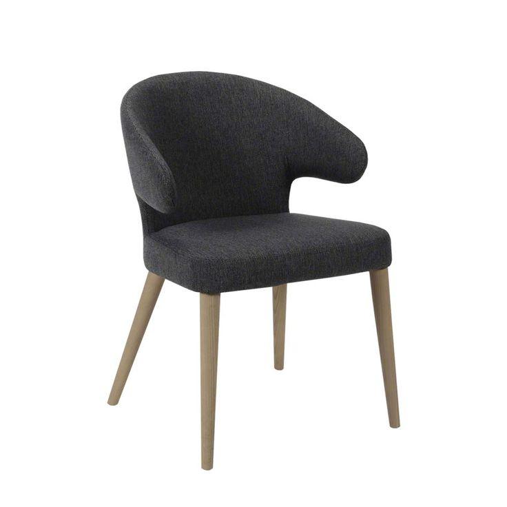 Esstisch stühle stoff  Die 25+ besten Esszimmerstuhl eiche Ideen auf Pinterest | Stuhl ...
