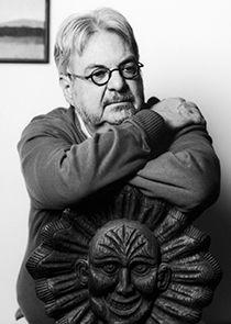 L'exposition L'Univers de Michel Tremblay à la Grande Bibliothèque Photo noir et blanc de l'artiste.