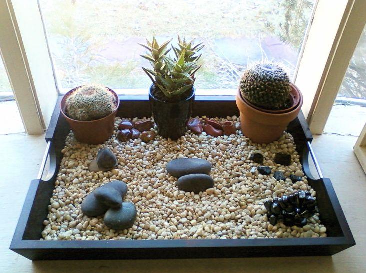 71 best Inspired Rock Gardens images on Pinterest ... Mini Japanese Rock Garden