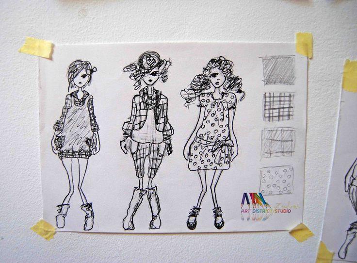 schita fashion design, cursuri ilustratie fashion design