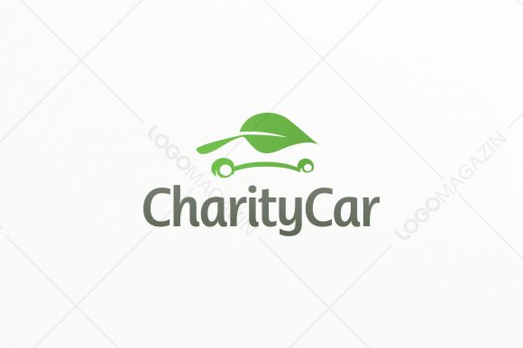 Check out Charity Leaf Car Logo by LogoMagazin on Creative Market