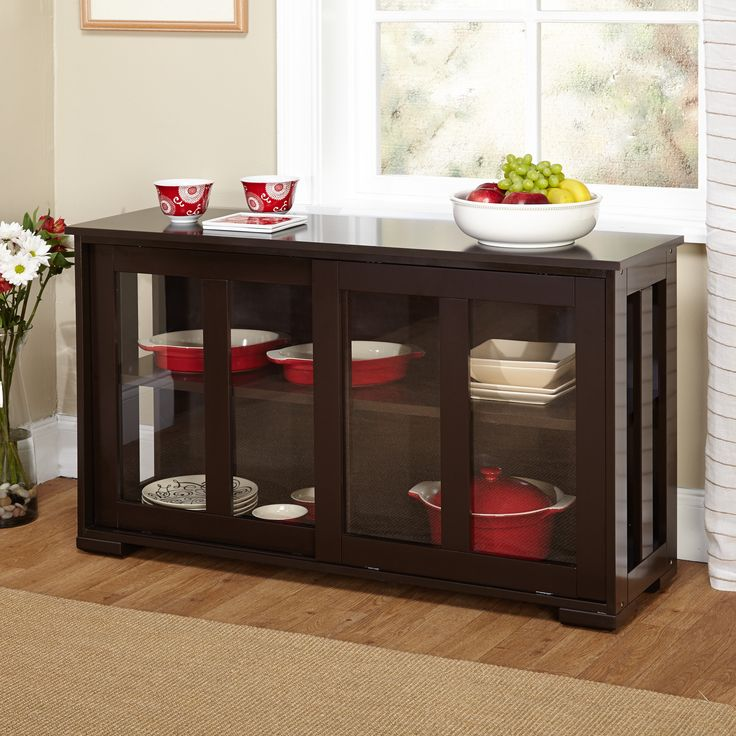 Blending Traditional And Modern Designs This Stackable Cabinet Features See Through Tempered Gl Doors