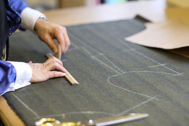 Learn to cut like a Savile Row tailor video