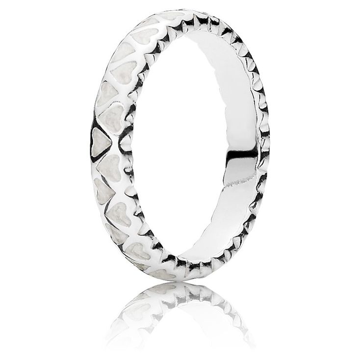 Pandora Ring Silber-schimmernde Liebe im Überfluss 190975EN23