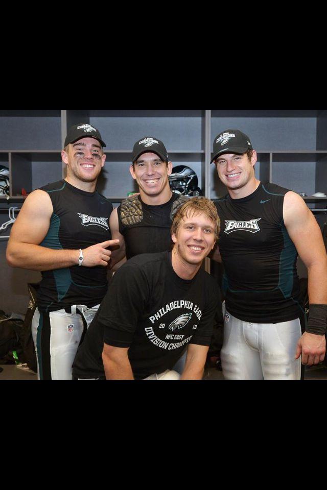 Nick Foles, Brent Celek, Zack Ertz. After winning NFC East title in 2013