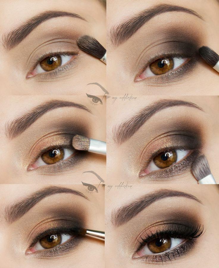 I love my addiction: Szybki i prosty makijaż :) - krok po kroku