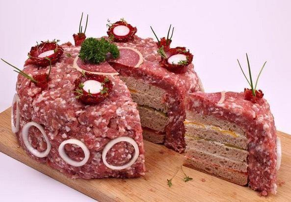 Fleischfreitag: Deutsche Männer-Torte http://rbll.de/1Hyffaz