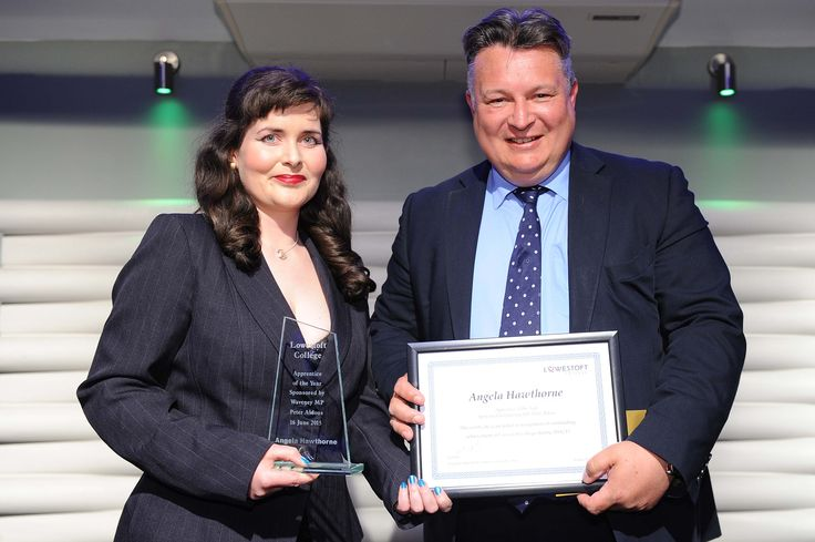 Angela Hawthorne Apprentice of the Year Sponsored by Peter Aldous MP