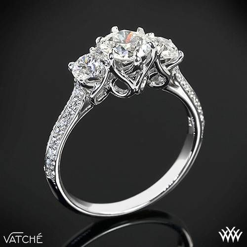 Past present and future engagement ring