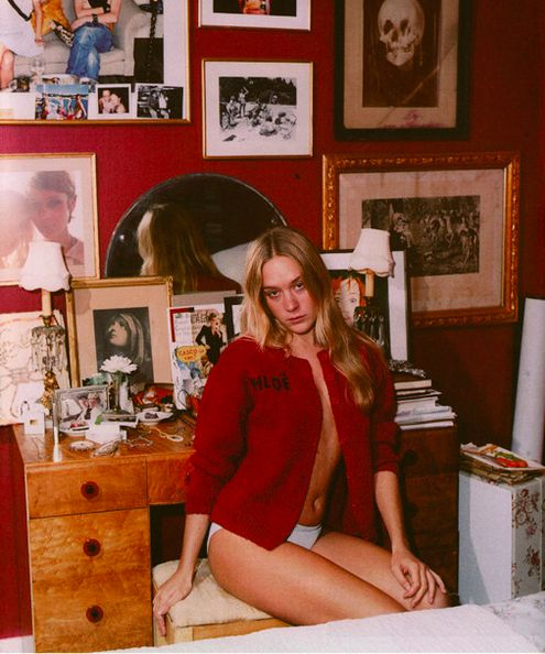 The apartment of Chloe Sevigny