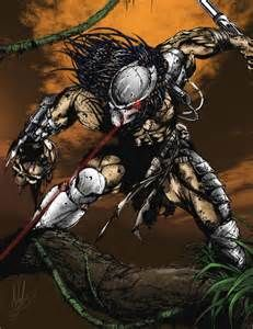 Deadly Pursuit: Predator vs. Scathe