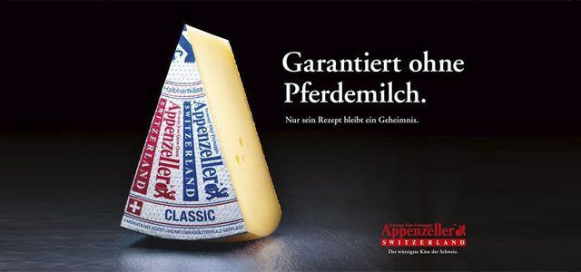 Appenzeller Käse - Pferdemilch