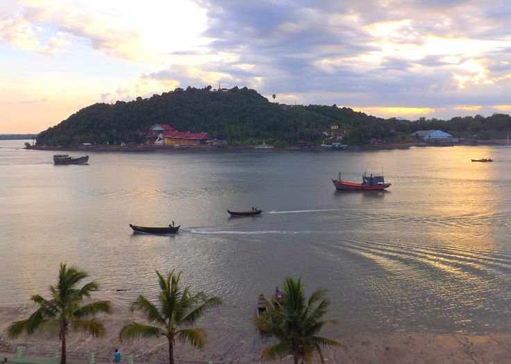 Myeik, Myanmar (City in Myanmar)  located in the extreme south of the country on the coast of an island on the Andaman Sea.