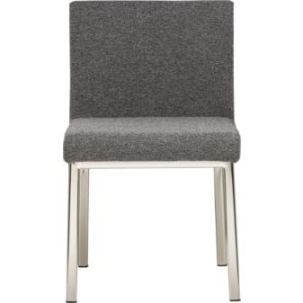 dining chair: Dining Rooms, Desks Chairs, Dining Chairs, Cb2 149, Cb2 Dining, Chairs 149, 149 Gray, 149 Cb2, Dining Tables