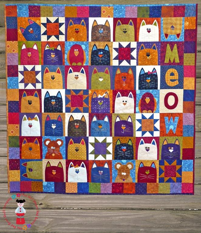 Best 25+ Cat applique ideas on Pinterest | Cat template, Cat ... : applique cat quilt patterns - Adamdwight.com