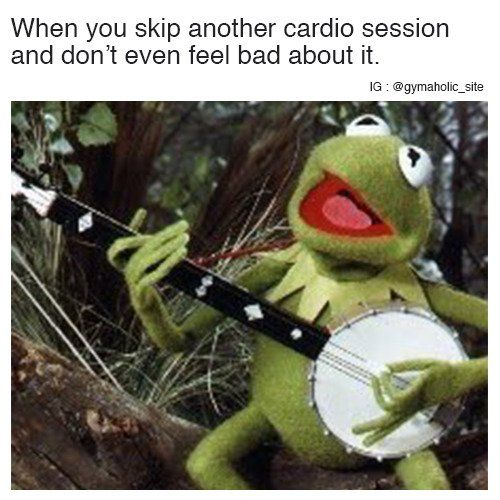 When You Skip Another Cardio Session