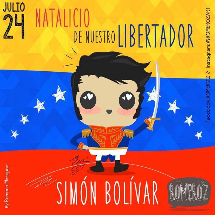 Natalicio de Simón Bolívar