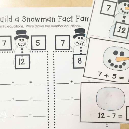 winter fact families