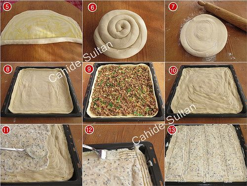 Sodalı altüst böreği