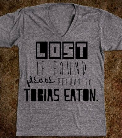 Divergent Inspired Lost If Found Please by CaffeinatedCreators, $28.00