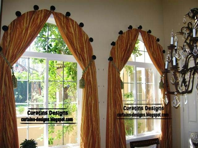 Best Arched And Eyebrow Window Treatment Ideas Images On - Arched window coverings window treatments for arch windows ideas