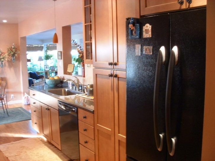 angled semi open galley kitchens | Uncategorized Small Galley Kitchen Design Pictures Ideas ...