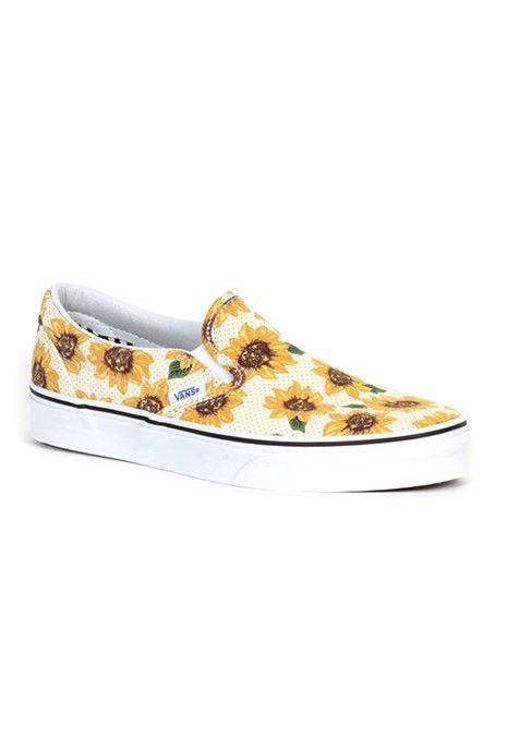 Scarpa Vans Classic Slip-On Sunflower