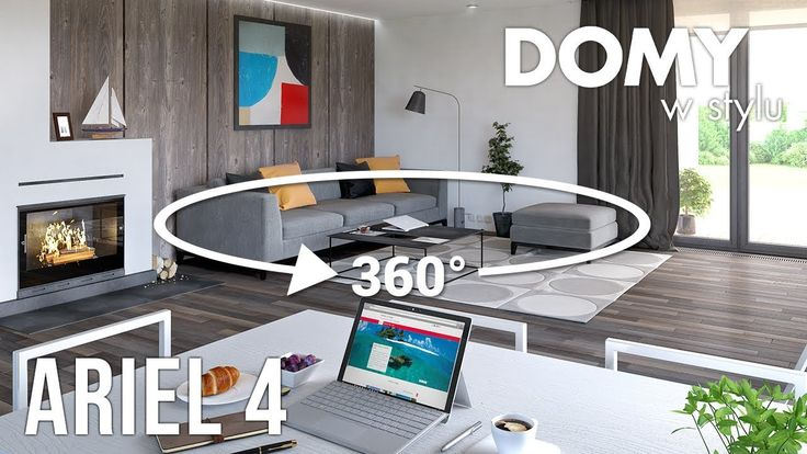 Panorama wnętrz w projekcie Ariel 4. Pełna prezentacja projektu dostępna jest na stronie: https://www.domywstylu.pl/projekt-domu-ariel_4.php  #projekty #projekt #projektdomu #projektygotowe #architektura #dom #domparterowy #architecture #design #homedesign #house #home #wnetrza #insides #interiors #video #film #ambrozja #domywstylu #mtmstyl