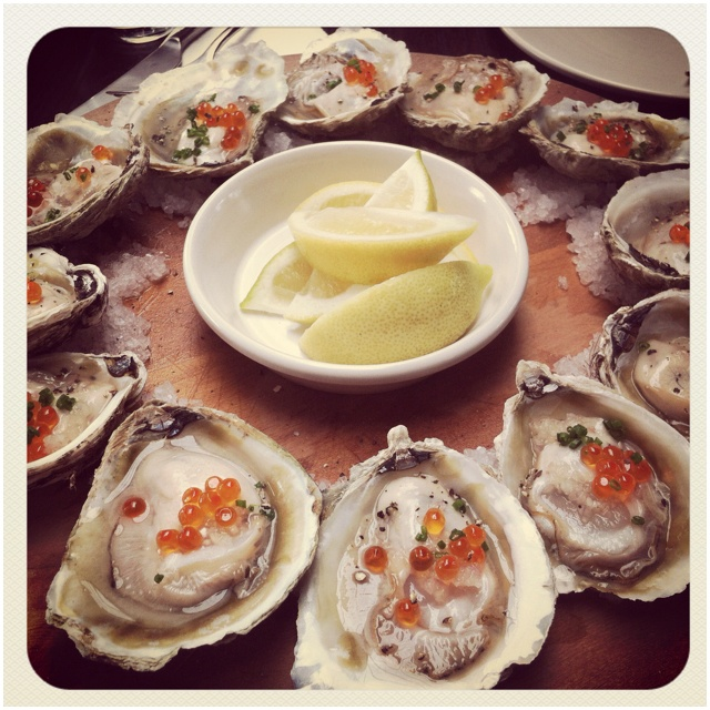Bluff oyster. Best in the world