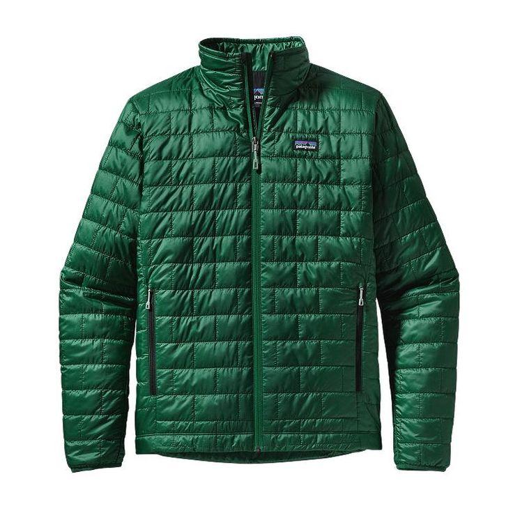 Patagonia Men\'s Nano Puff\u00AE Jacket - Malachite Green MLCG