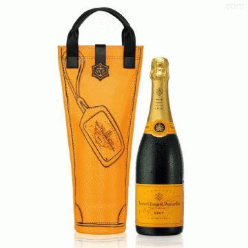 Coffret champagne Veuve Clicquot carte Jaune Shopping Bag