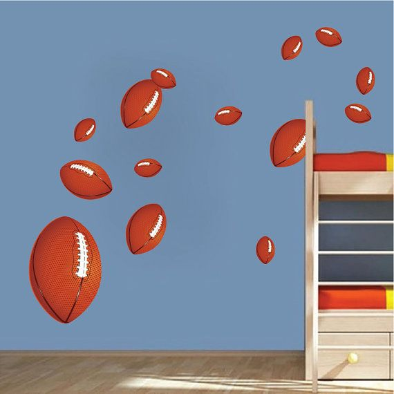 Football Wall Decals Art Stickers By PrimeDecal