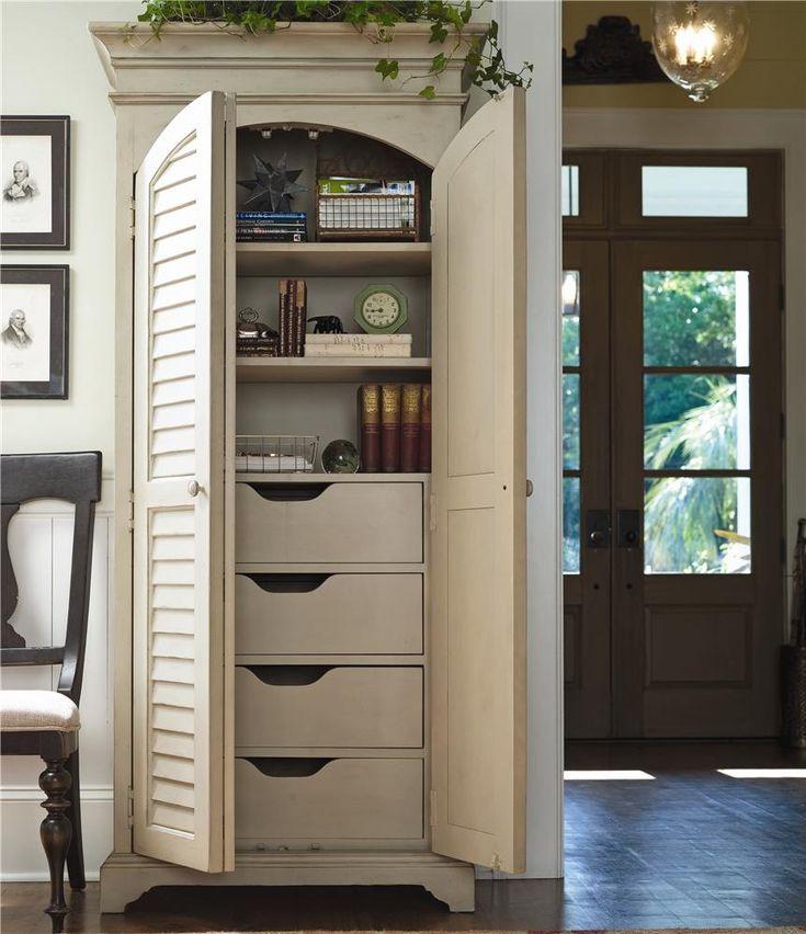 Paula Deen Home Utility Cabinet with Louvered Doors by Paula Deen ...