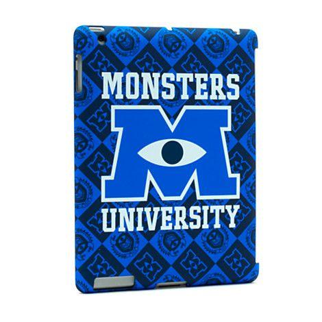 If only it was the ipad mini. -.- Monsters University Tablet Clip Case